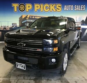 2017 Chevrolet SILVERADO 2500HD One Owner, Duramax Diesel, Accid