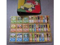 Complete 151/151 Gen 1 Pokedex - Pokemon card Base, Jungle, and Fossil sets - Incl folder and more