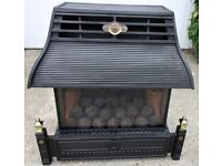 Flavel Emberglow gas fuelled fire - with coals.
