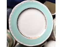 50 x VINTAGE CROCKERY SIDE PLATES (MID-CENTURY 30's 40's 50's) GOOD CONDITION - CAFE / WEDDING