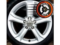 "17"" Genuine Audi Techniks alloys Golf Caddy Leon etc perfect cond Michelin tyres."