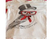 Ladies Owl T-shirt size 8/10