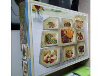 Toscana nine piece serving set