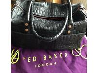 Large black Ted Baker bag