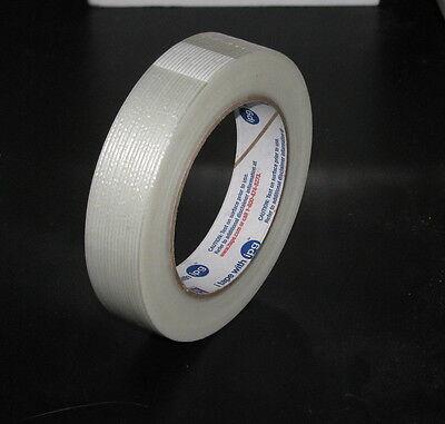 1 X 60 Yd Fiberglass Reinforced 3.9 Mil Filament Tape U.s. Made Free Ship