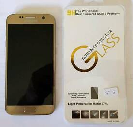 Samsung s7 Gold Mobile Phone