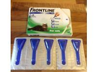 Frontline for cats pack of 5