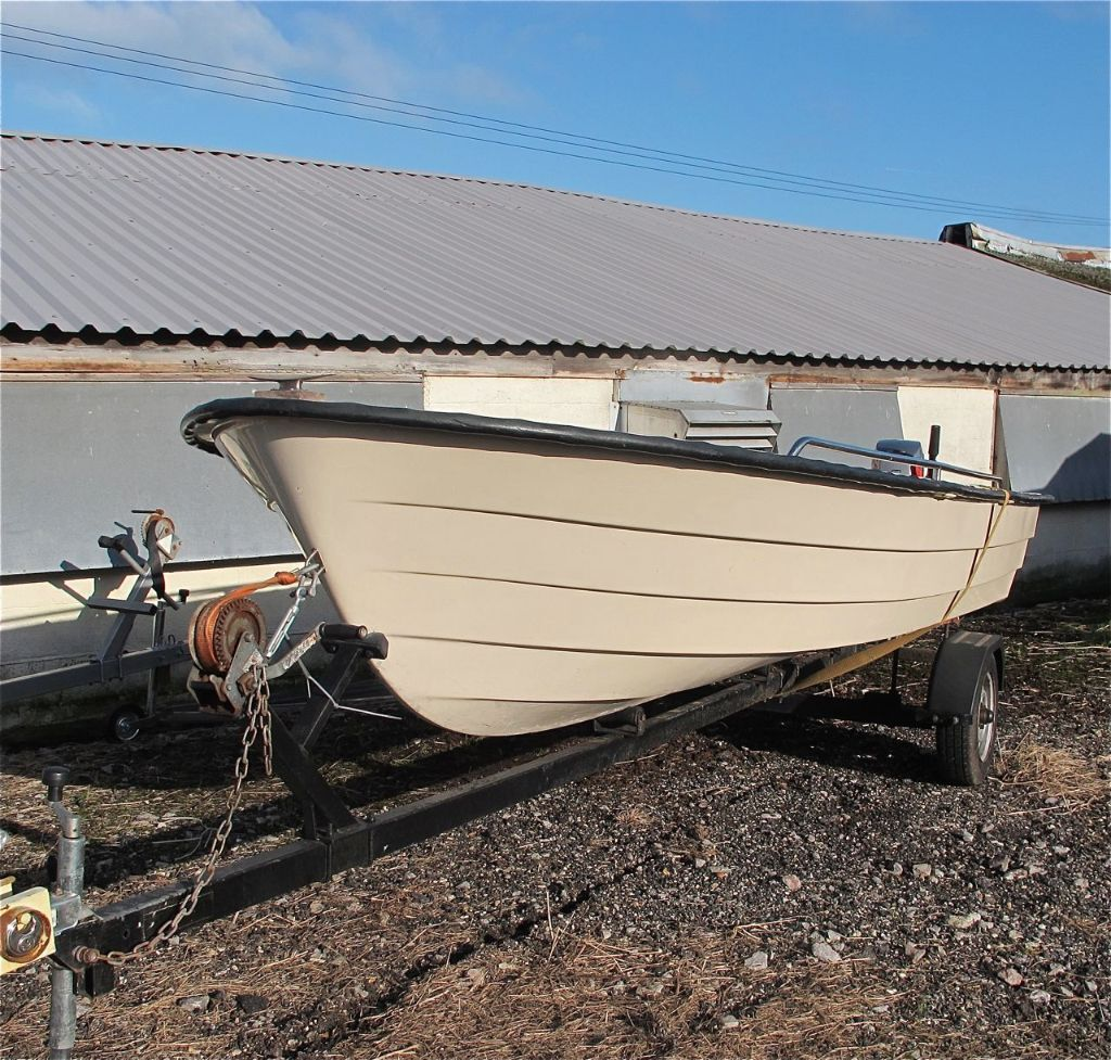 Shetland 14 Fishing Boat Woth 25hp Mariner Outboard And Trailer In Wiring Tridentuk