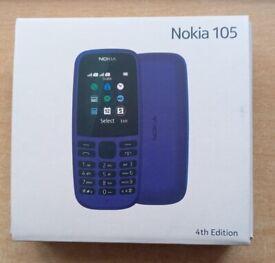 Nokia 105, Dual sim, Brand NEW, boxed, Unlocked, Retail and Wholesale
