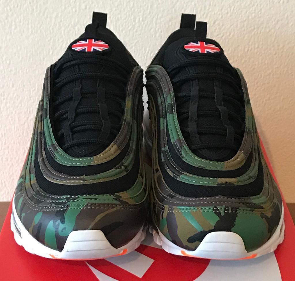 ba981e4eb Nike Air Max 97 'International Air' UK 10 British Camo - AJ2614 201 ...