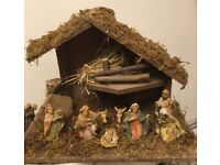 Nativity Christmas display