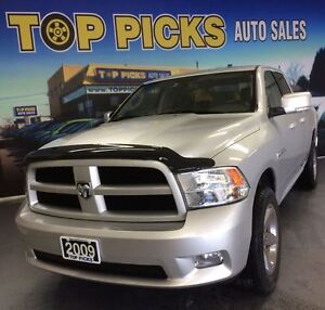 2009 Dodge Ram 1500 SPORT, 4X4, BUCKET SEATS, 20 CHROME WHEELS!
