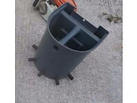 Calf bucket feeder