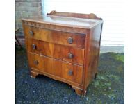 Vintage LEBUS Chest of Drawers Dressing Table Project