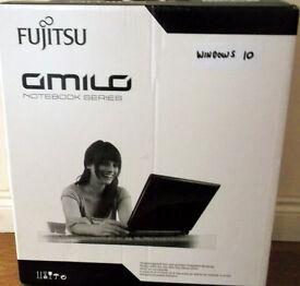 Fujitsu Amilo Laptop Notebook BOXED hardly used WITH WARRANTY