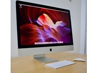 iMac 27'' 5K display, 3.2GHz, 1TB Fusion, 8GB, Apple Warranty. Stunning condition. £899 only!