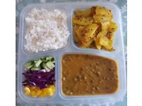 Pure Vegetarian Indian Tiffin Service from £4.50 Delivered per Tiffin/Bento - Meals on Wheels