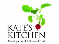 Head Chef for centrally based Kate's Kitchen Catering - Event Caterers - SOCIABLE HOURS!!!!