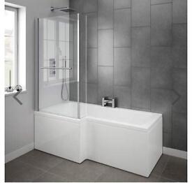 Complete bath.