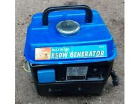 Fully Serviced Portable Petrol Generator Mains 240v 850W max