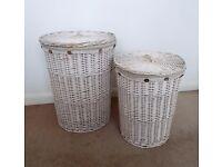 2 x Washing Laundry Baskets