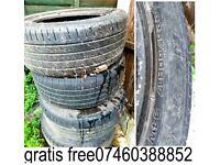 4 car tyres FREE