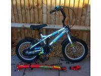 Blowfish Child's Bike with trailgator