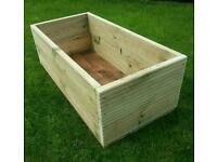 Decking planter, extra large, wide and deep. Quality heavy pressure treated timber. Brand new.