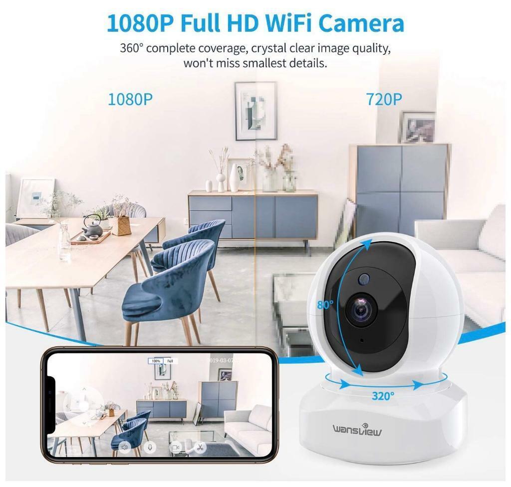 Alexa Compatible WiFi Camera | in Port Glasgow, Inverclyde | Gumtree