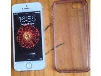 Iphone 5s silver white 16gb ALL networks( read description)