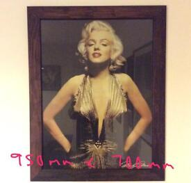 Marilyn Monroe Joblot. Pictures and canvases