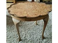 Vintage Scalloped Edged Coffee Table