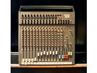 MIXING DESK. USED ONLY TWICE. SOUNDCRAFT SPIRIT SX. DIGITAL SOUND. 12 CHANNEL WITH 20 INPUTS. £275