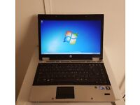 HP EliteBook 8440p Laptop PC Notebook - 14 inch HD Screen - Intel Core i7 - 4 GB RAM - 320 GB HDD