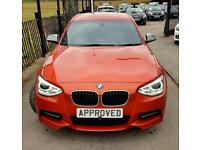 BMW 1 SERIES 3.0 M135I 5d 316 BHP Apply for finance Online today! (orange) 2013