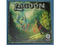 'Lagoon: Land Of Druids' Board Game (as new)
