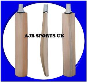 Senior Custom Plain Hand Made English Willow Cricket Bat 2lb 6ozs