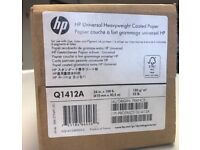 HP Universal Heavyweight Coated Paper - Q1412A - BRAND NEW!