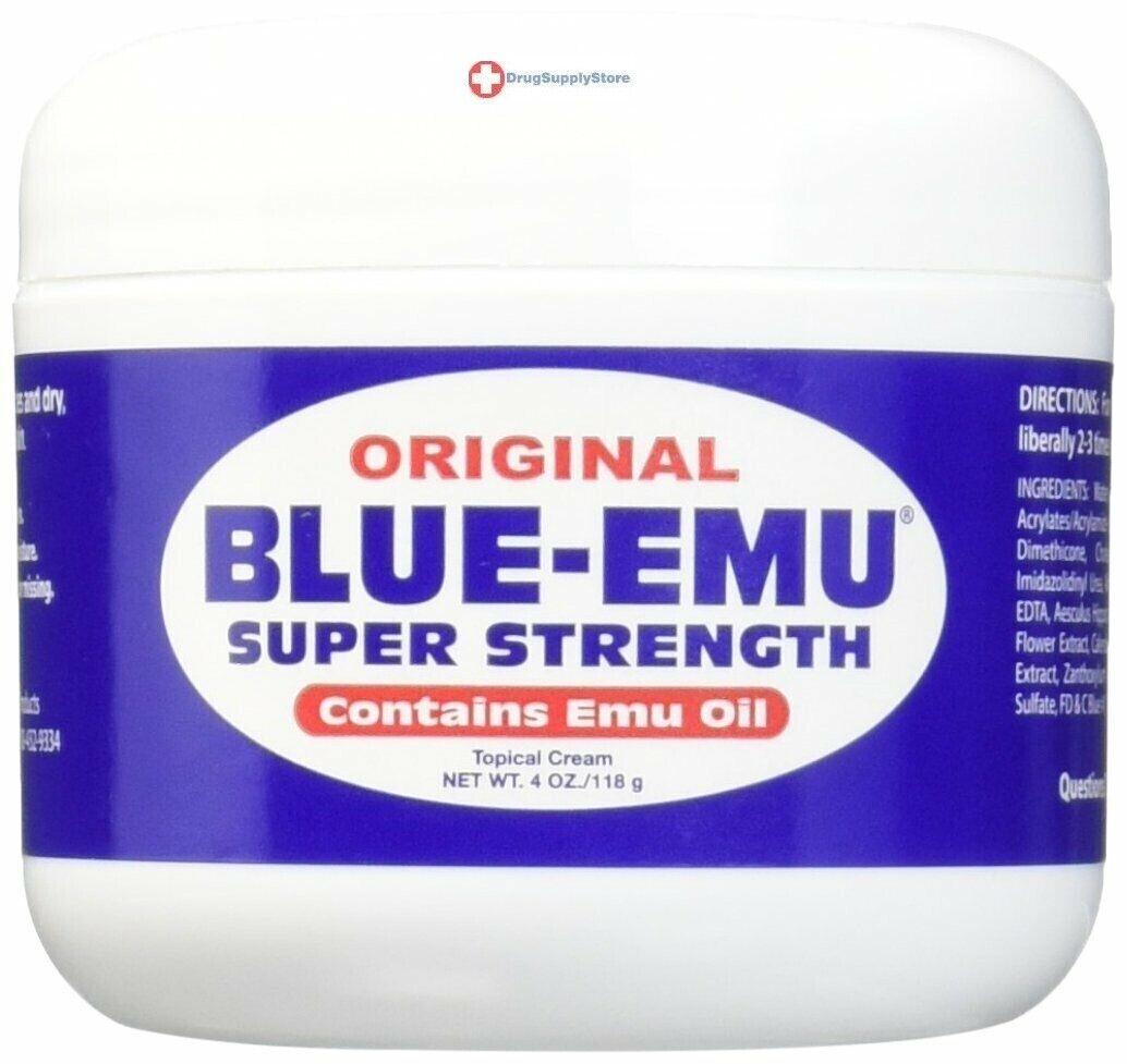 Blue Emu Oil Original Super Strength, 4oz