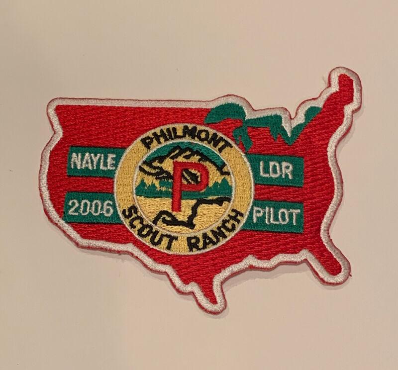 Philmont Scout Ranch Nayle Pilot 2006 Rare Mint Patch
