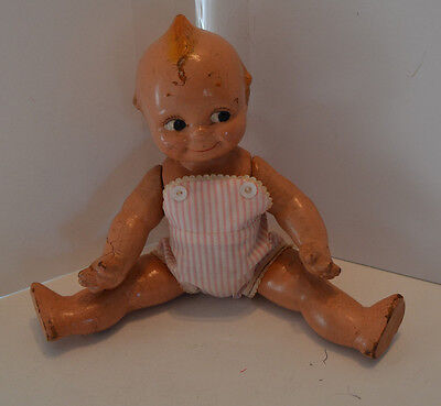 VINTAGE 1920'S ROSE O'NEILL ? 12IN COMPOSITION KEWPIE DOLL