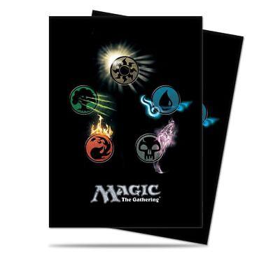 (Ultra Pro Magic the Gathering MTG Series 4 Five Mana Symbols Card Sleeves 80ct)