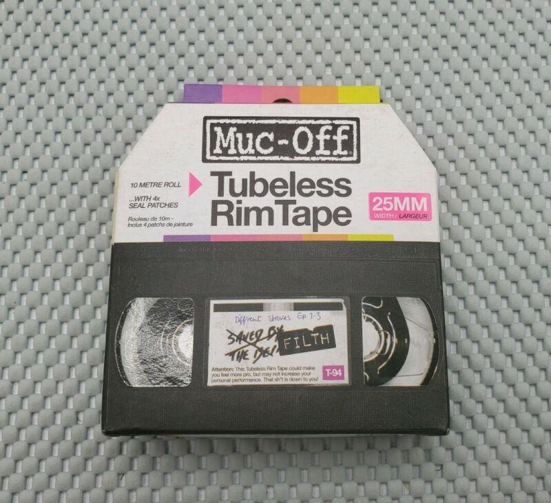 Muc-Off 25mm Tubeless Rim Tape 10-Meter Roll for CX/Gravel/Road/MTB Bike