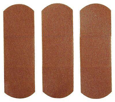 "100 FLEXIBLE Fabric BANDAIDS Full New BOX of 100 1"" x 3"" Cloth Adhesive Bandages"