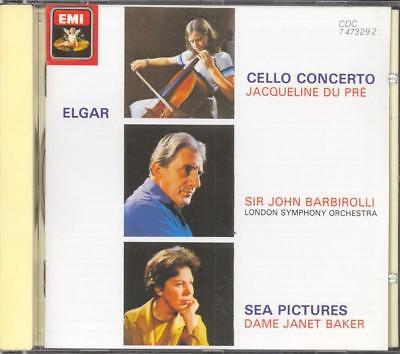 ELGAR - Cello Concerto / Sea Pictures - Jacqueline DU PRE / John BARBIROLLI  EMI comprar usado  Enviando para Brazil