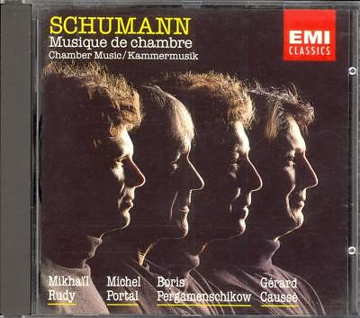 SCHUMANN - Chamber Music - RUDY / PORTAL / CAUSSE / PERGAMENSCHIKOW - EMI for sale  Shipping to South Africa