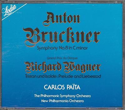 BRUCKNER - Symphony 8 / WAGNER - Tristan & Isolde Prelude - Carlos PAITA - 2CDs for sale  Shipping to South Africa