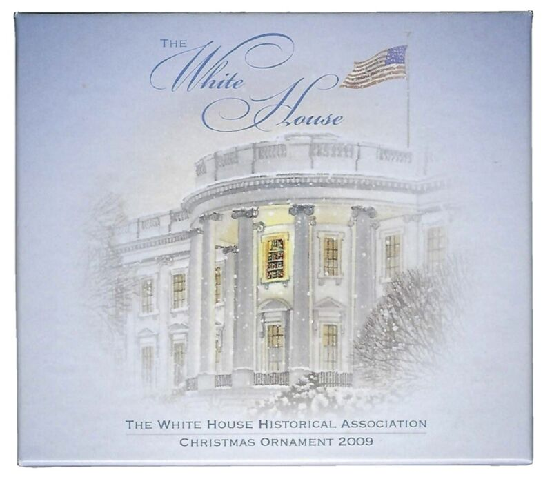The White House Historical Association Christmas Ornament 2009 -FREE SHIPPING!