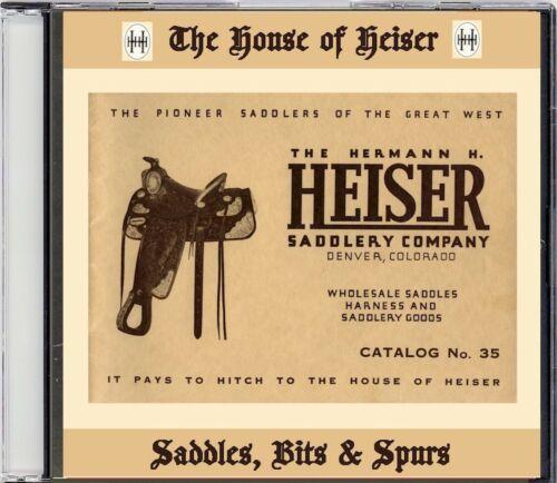H.H. Heiser Catalog #35 on CD - Saddles, Bits, spurs