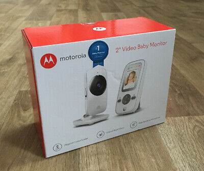 Motorola MBP481 Wireless Video Baby Monitor Brand New Unopened Cost £79.99